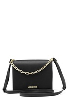 Love Moschino Chain Crossbody Bag 00b Black/gold One Size
