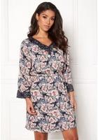 Jacqueline De Yong Appa 7/8 Lace Dress Rose Smoke 36