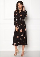 Only Japaan Smock Midi Dress Black 38