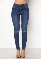 Vero Moda Sophia Hr Skinny Destroy Jeans Medium Blue Denim S/32