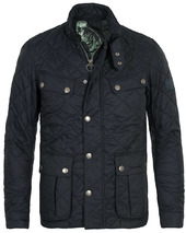 Barbour International Ariel Quilted Jacket Navy