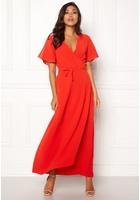 Ichi Zarun Dress 16254 Aurora Red M