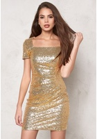 Sisters Point Noffi Dress Gold Xs