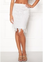 Vero Moda Flora Hw Lace Skirt Snow White S