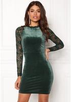 Only Valerie L/s Dress Rain Forest L