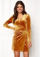 Vila Velvetine Short Dress Coppar Xl