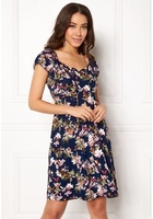 Happy Holly Tessan Dress Blue / Patterned 36/38