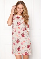 Only Barbara S/s Short Dress Pink Tint 34
