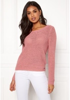 Only Geena L/s Pullover Blush Xl