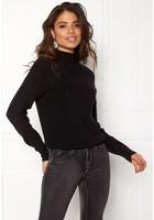 Jacqueline De Yong Julia L/s Pullover Black L