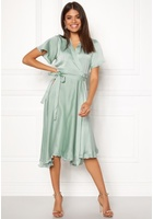 Vero Moda Alanna Wrap Dress Jadeite Xs
