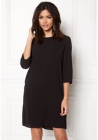 Only Vic 3/4 Solid Dress Black 36