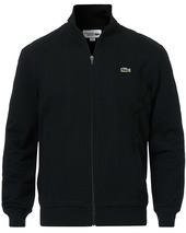 Lacoste Full Zip Sweater Black
