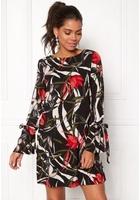 Vero Moda Lihn Ls Short Dress Black Xs