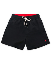Polo Ralph Lauren Traveler Boxer Swimshorts Polo Black