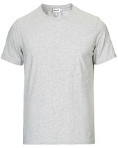 Filippa K Soft Lycra Tee Light Grey Melange