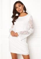 Only Bella New Lace L/s Dress Cloud Dancer 38