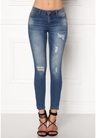 Jacqueline De Yong Skinny Low Magic Jeans Light Blue Denim 28/32