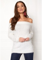 Only Gaia L/s Off Shoulder Cloud Dancer L