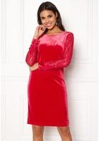 B.young Urbana Dress Crimson Red Xs