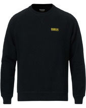 Barbour International Essential Crew Neck Sweatshirt Black