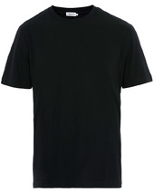 Filippa K Single Jersey Regular Tee Black