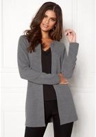 Vero Moda Paris Ls Cardigan Medium Grey Melange Xs