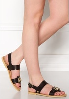 Love Moschino Sandals 000 Black 40