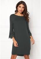 Object Kathrine 3/4 Dress Asphalt 38