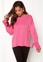 Jacqueline De Yong Brace L/s Sweat Aurora Pink Xs