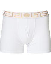 Versace Greca Boxer Briefs White