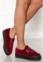 Superga Velvet Sneakers Red 39 (uk6)