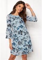 Happy Holly Charlene Dress Medium Blue / Patterned 52/54s