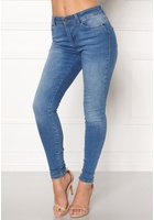 Object Sarah Skinny Jeans Medium Blue Denim 26