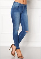 Only Carmen Reg Sk Ankle Medium Blue Denim 26/34
