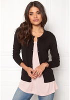 Only Bella L/s Button Cardigan Black Xs