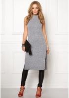 Object Nina Nonsia S/l Knit Medium Grey Melange M
