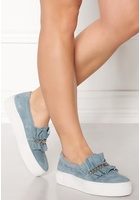 Billi Bi Suede Sneakers Lightblue 39