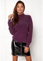 Jacqueline De Yong Julia L/s Pullover Potent Purple L