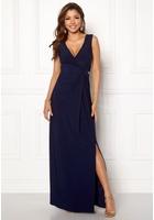 Chiara Forthi Mazzima Dress Dark Blue Xl (eu44/46)