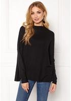 Only Kleo L/s Plain Pullover Black M
