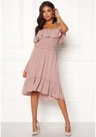 Vila Petra S/s Dress Adobe Rose S