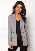 Pieces Carla Ls Blazer Light Grey Melange L