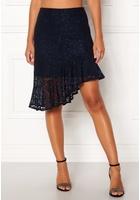 Vero Moda Lizz Hw Blk Skirt Night Sky S