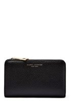 Marc Jacobs Compact Wallet 065 Black Gold One Size
