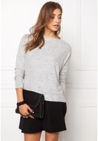 Only Idaho L/s Oversize Knit Light Grey Melange M