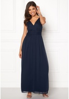Vero Moda Josephine Sl Maxi Dress Black Iris Xs