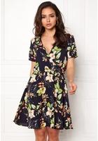 Jacqueline De Yong Trick S/s Dress Night Sky 38