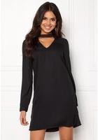 Vero Moda Chiara Ls Choker Dress Black M