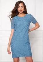 Ichi Bloom Dress Parisian Blue Xs